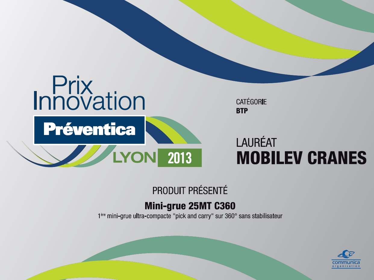 MOBILEV remporte preventica 2013